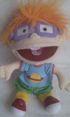 Adorable Big My 1st 'Chuckie' Rugrats Plush Puppet Nickelodeon Toy